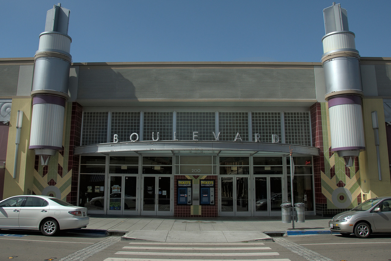 Boulevard Cinema in Petaluma, California