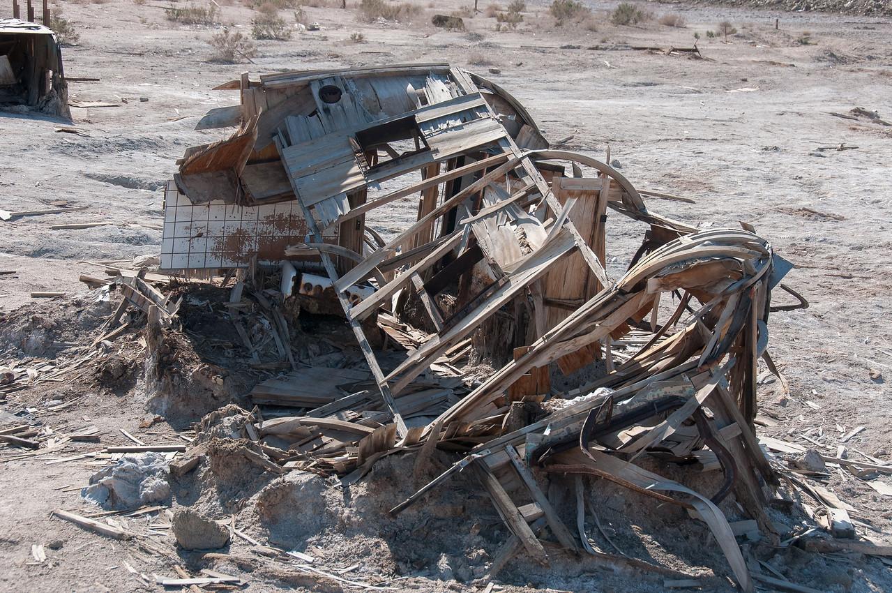 Salvation Mountain in Salton Sea, California