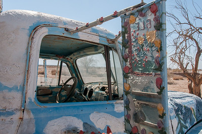 Salvation Mountain Salton Sea, California