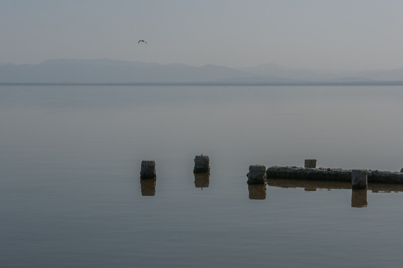 Salton Sea in California, USA