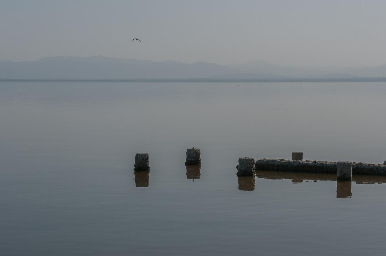 Salton Sea in California, USA