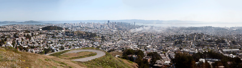 Panorama of San Francisco, California