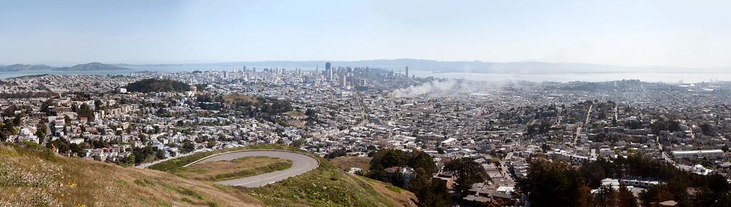 Panorama of San Francisco, California