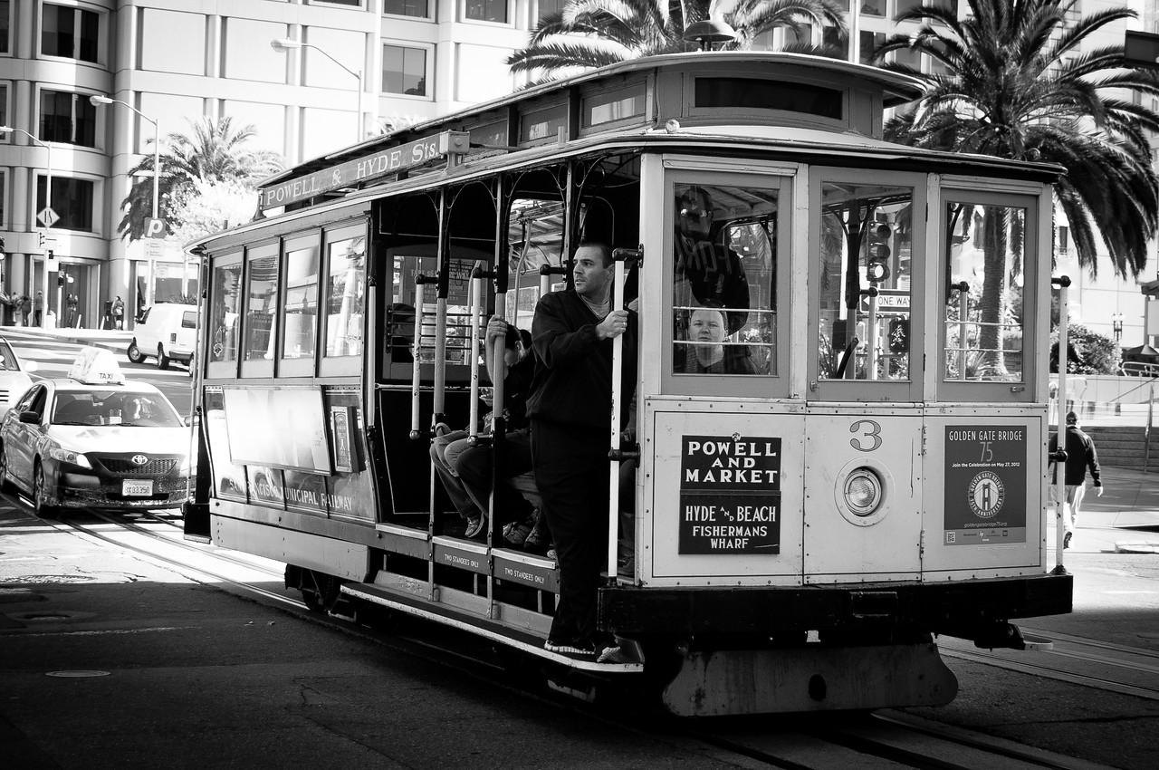 San Fracisco cable car - San Francisco, California
