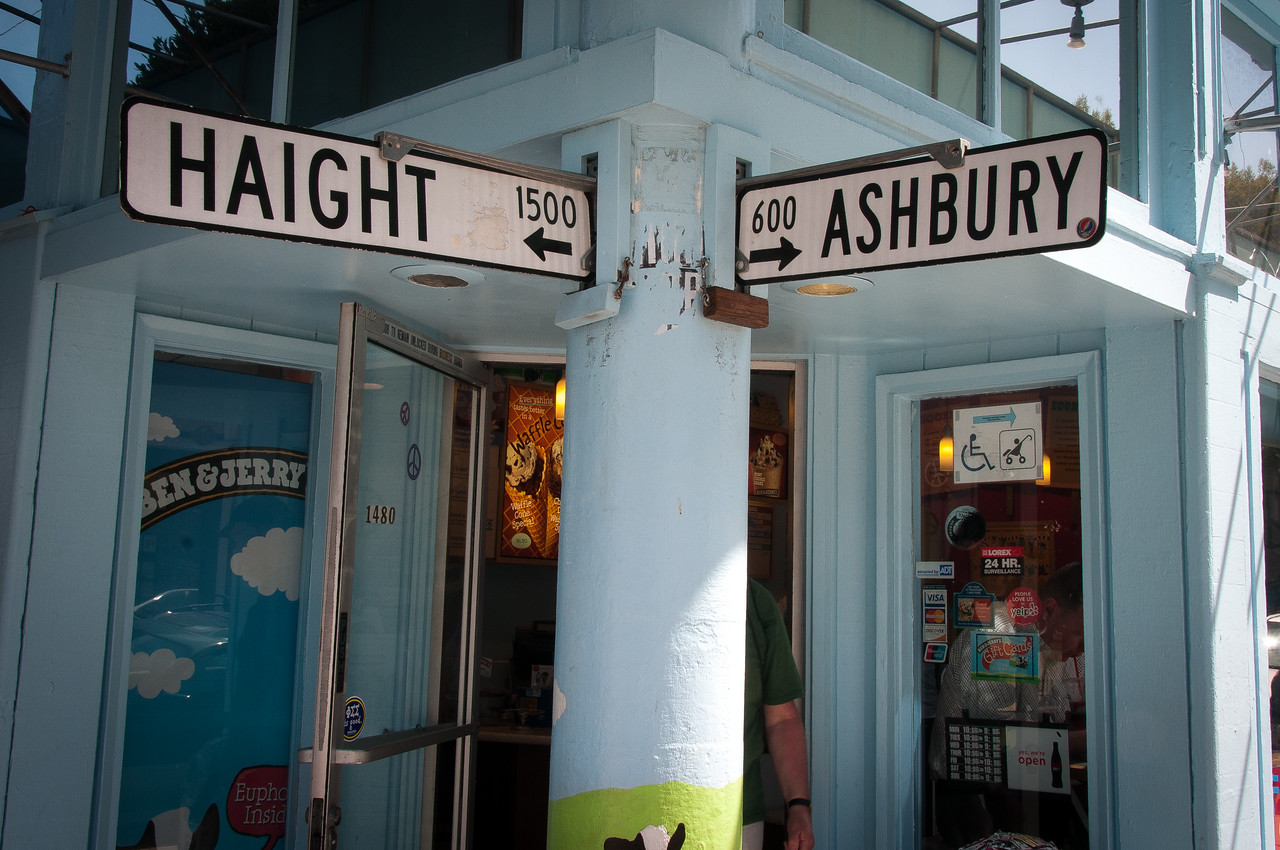 Haight-Ashbury in San Francisco, California