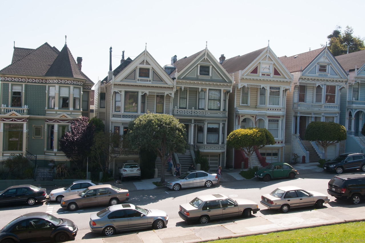 Painted Ladies in San Francisco, California
