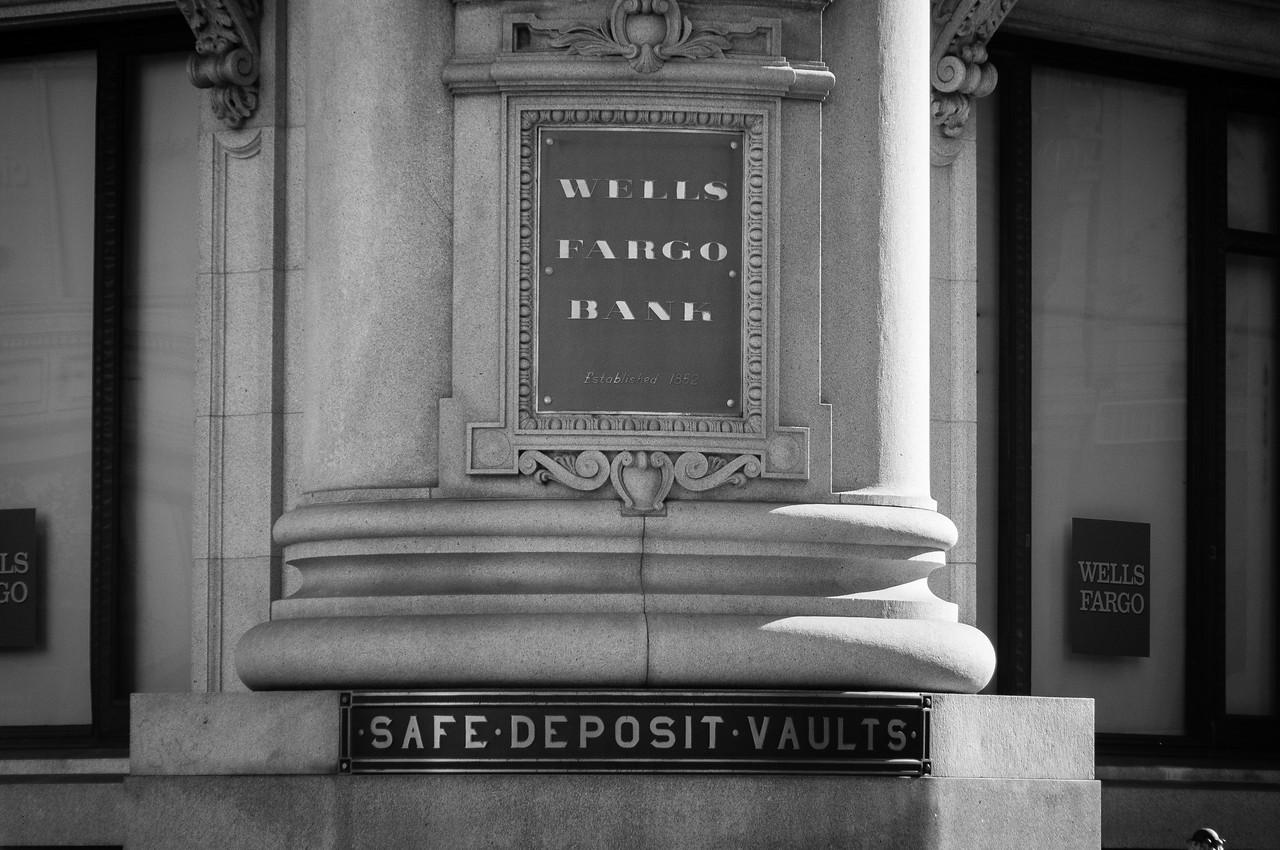 Wells Fargo Bank in San Francisco, California