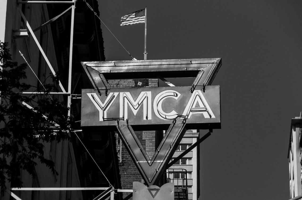 The Chinatown YMCA building in San Francisco, California