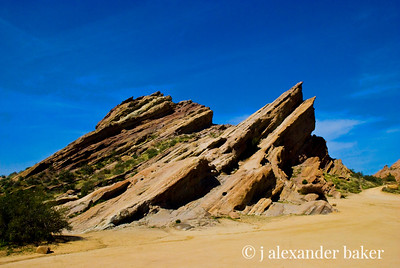 Vasquez Rocks - Alien Landscape as seen in Star Wars