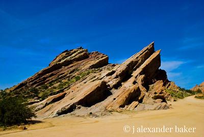 Vasquez Rocks - Alien Landscape as seen in Star Wars