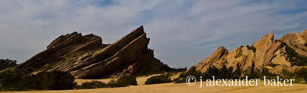 Vasquez Rocks Panorama