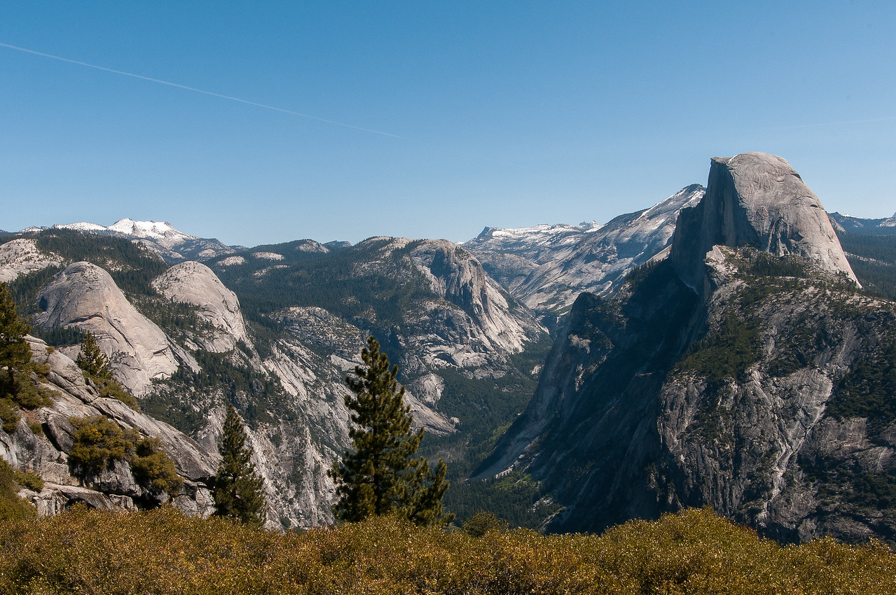 Tenaya Canyon and Half Dome from Glacier Point, Yosemite National Park