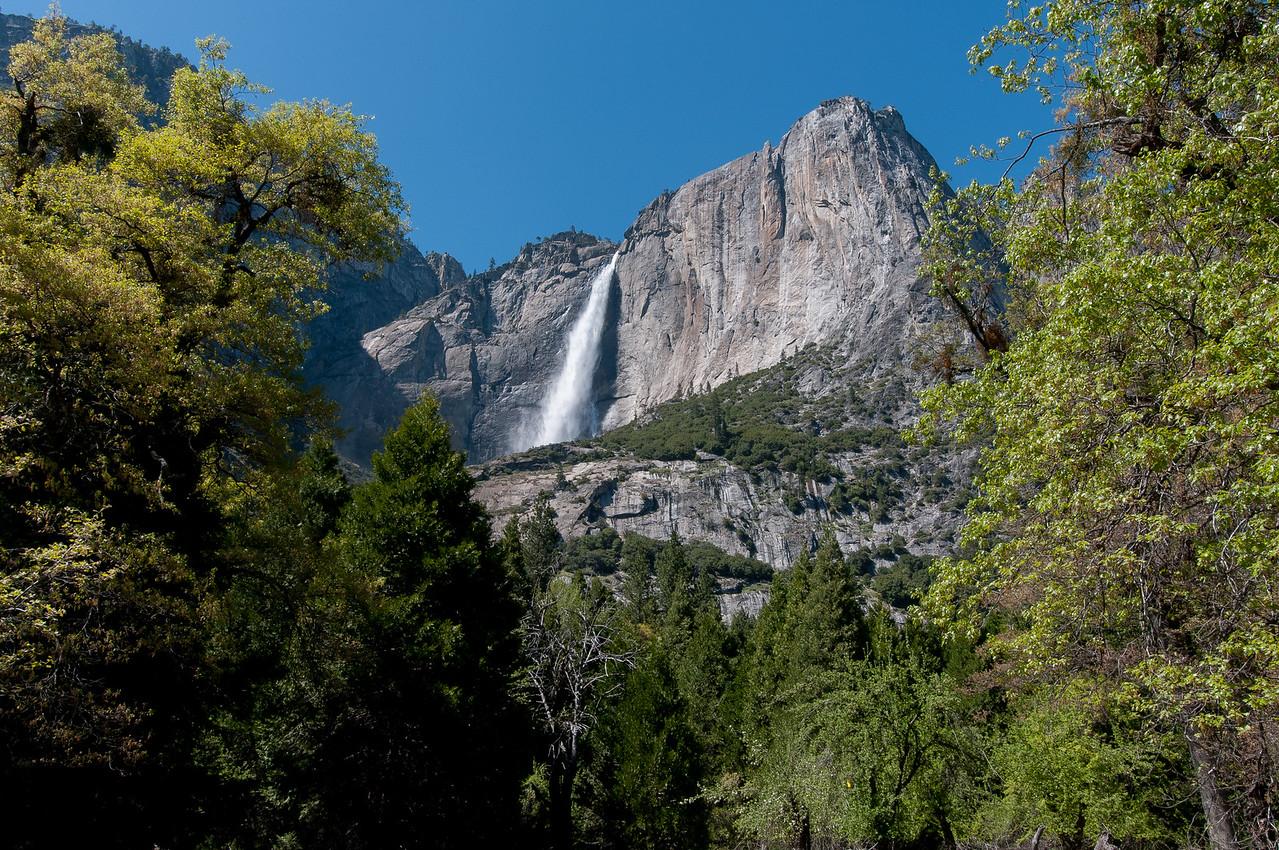 Yosemite Falls in Yosemite National Park, California