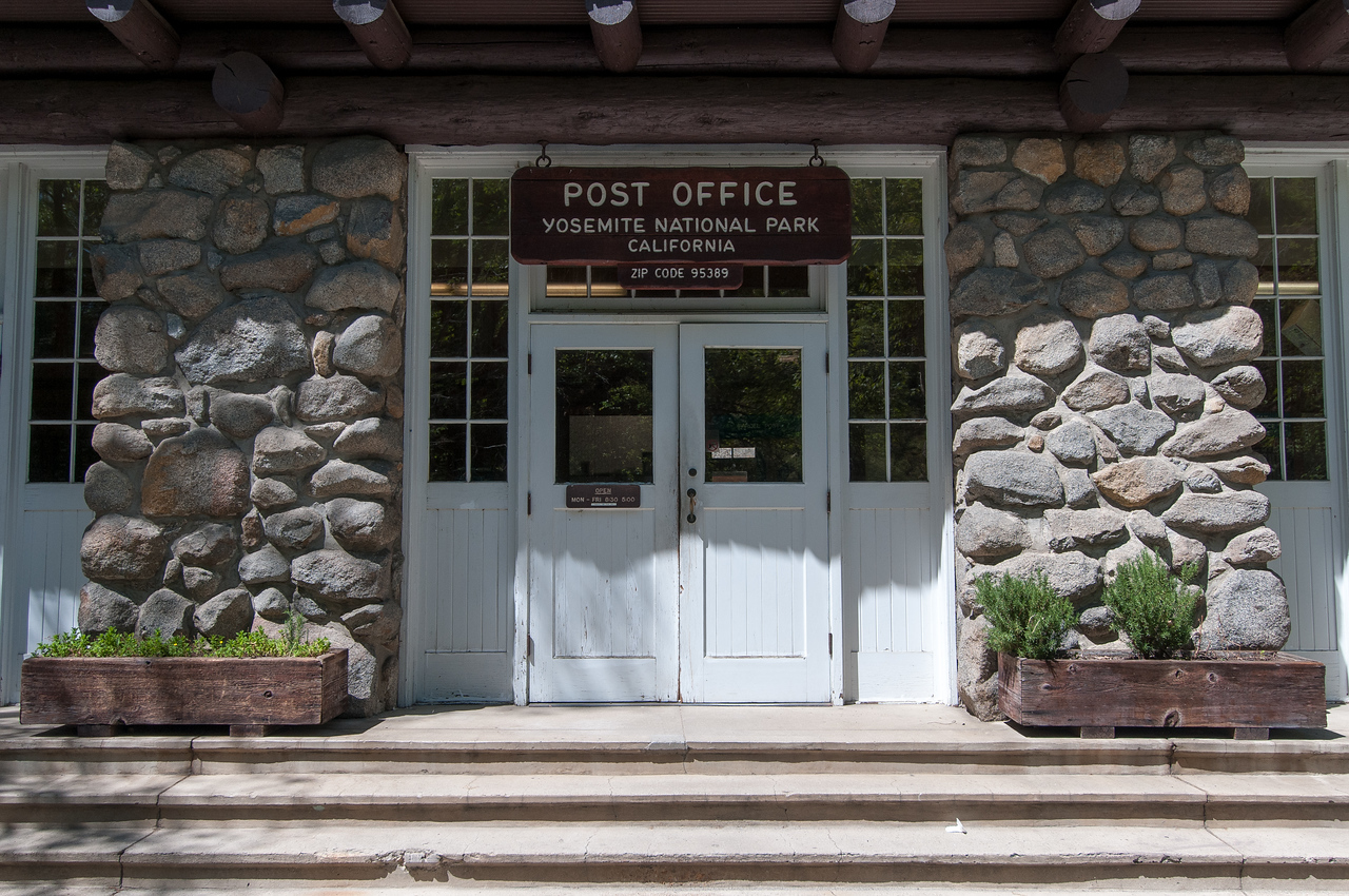 Post Office at Yosemite National Park, California