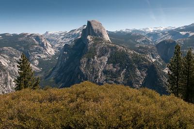 Half Dome at Yosemite National Park, California
