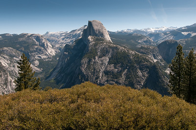Half Dome at Yosemite National Park, California
