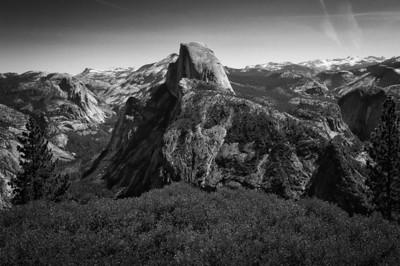 Half Dome at the Yosemite National Park in California