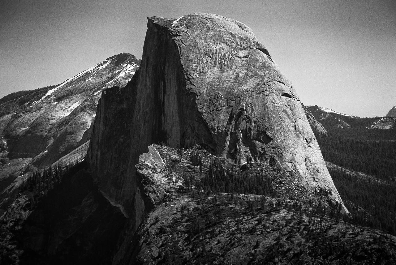 Half Dome in Yosemite National Park - California