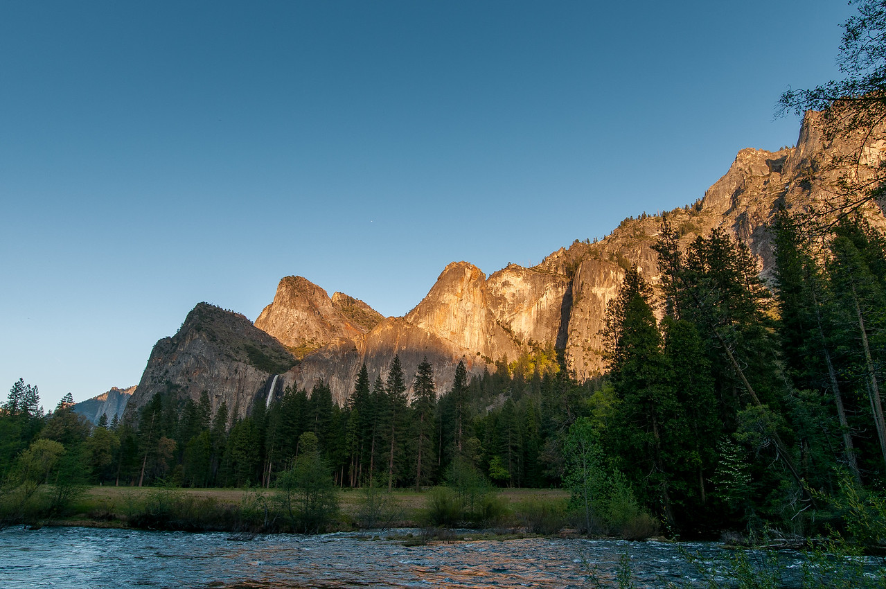Yosemite Valley as seen from the Toulumne Meadows in California