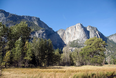 Inside Yosemite National Park in California, USA