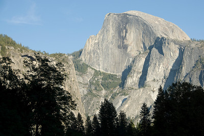 Rock formation in Yosemite National Park in California, USA