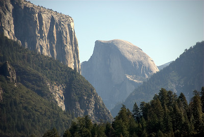 Rock formation at Yosemite National Park in California, USA