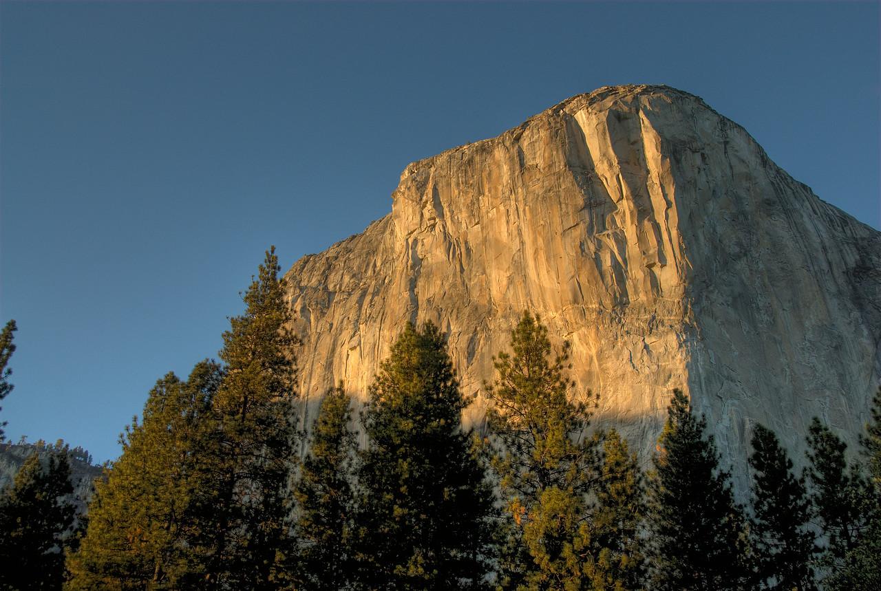 El Capitan in Yosemite National Park - California, USA