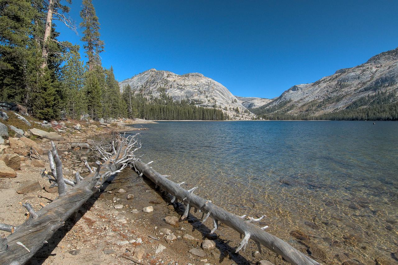 Tenaya Lake at Yosemite National Park in California
