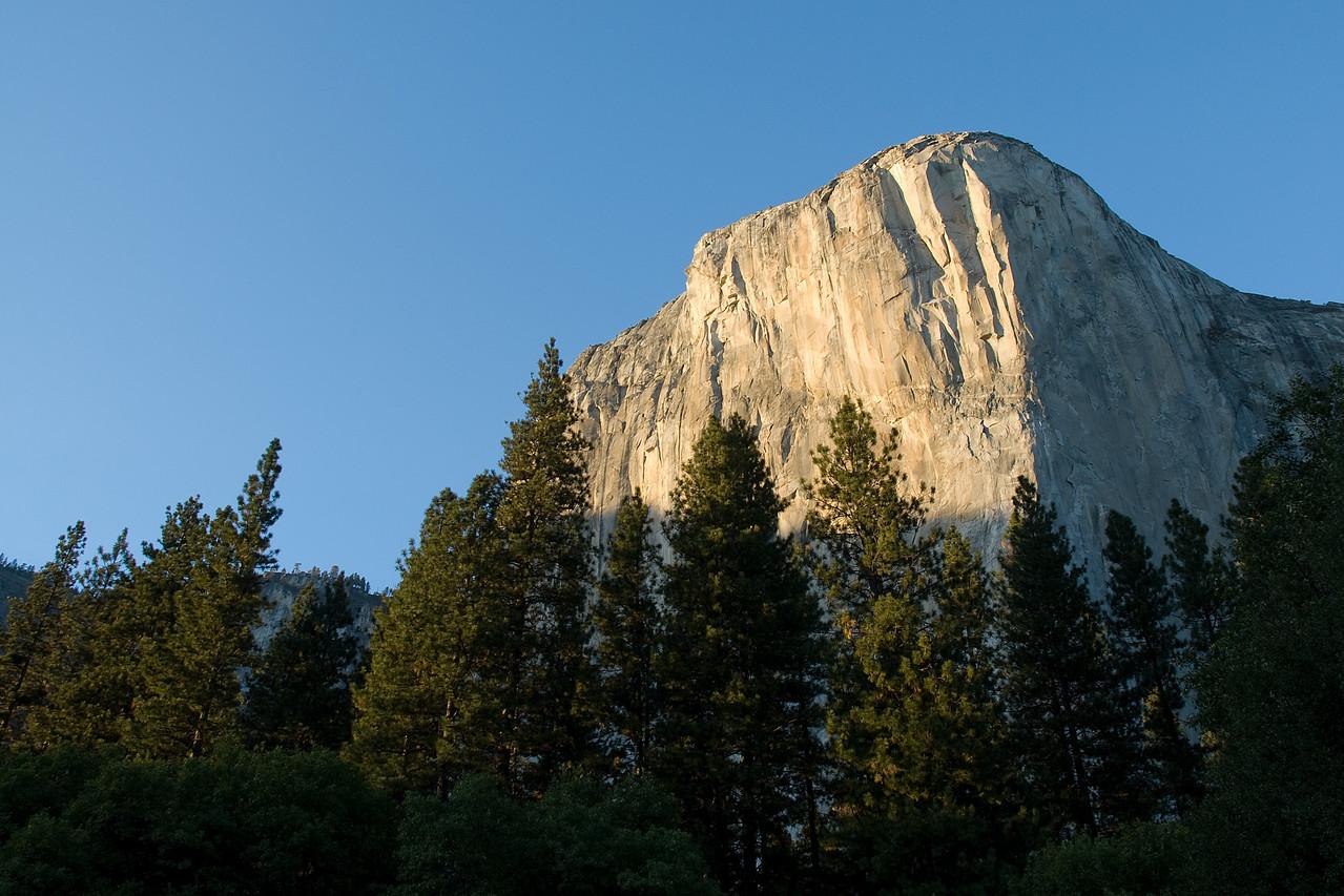 El Capitan in Yosemite National Park in California, USA