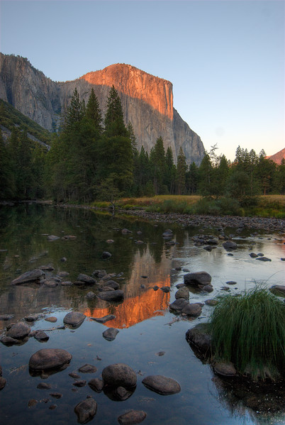 U-Shaped Valley in Yosemite National Park