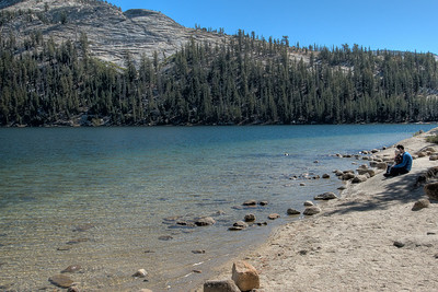 Tenaya Lake in Yosemite National Park in California