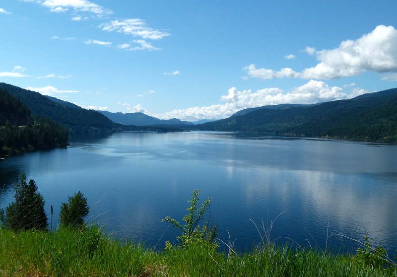 Christie Lake on Highway 3 in British Columbia