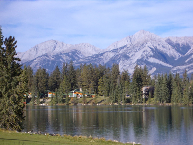 Fairmont Jasper Park Lodge makes a romantic getaway in Canada or relaxing headquarters for a fun Canadian adventure.