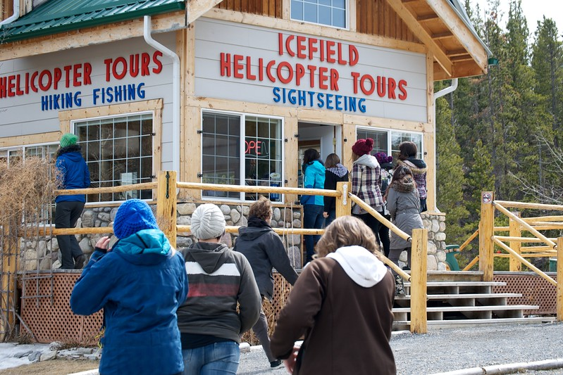 Icefield Helicopter Tour