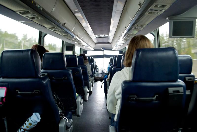 Brewster Bus Banff to Jasper
