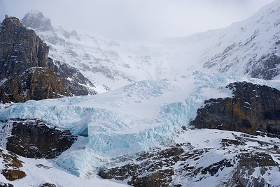 Columbia Icefield in Jasper National Park
