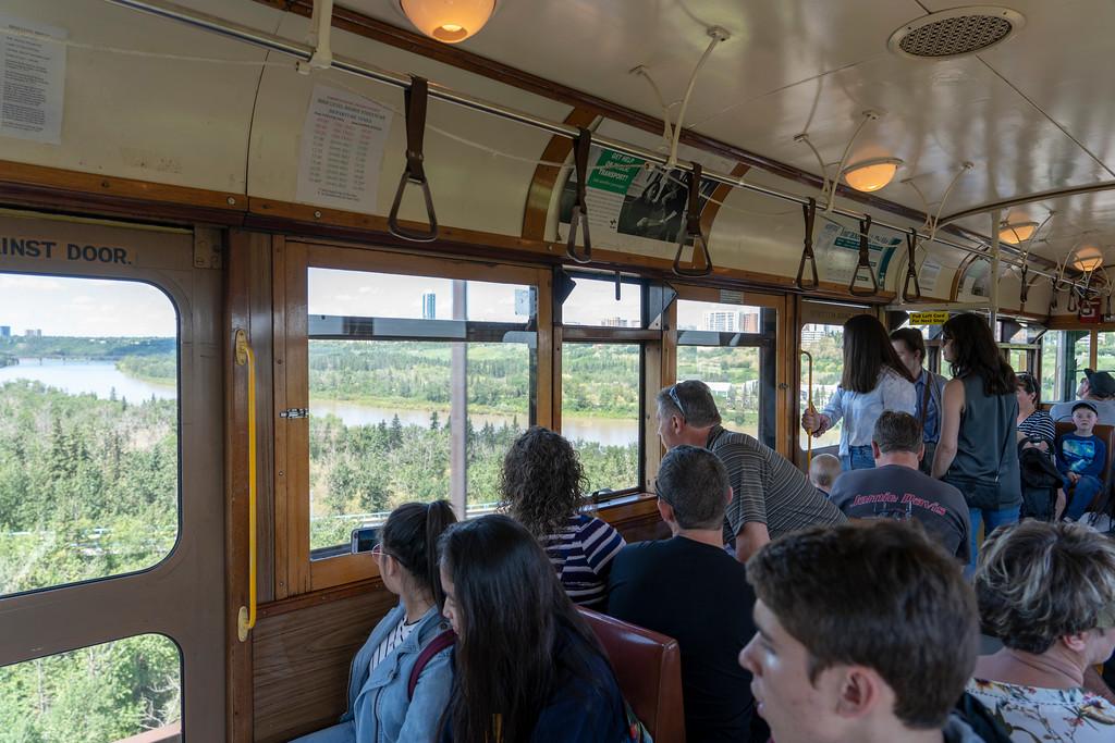 High Level Bridge Streetcar in Edmonton