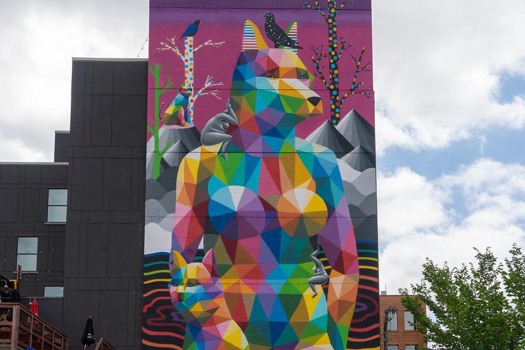 Mural in Edmonton