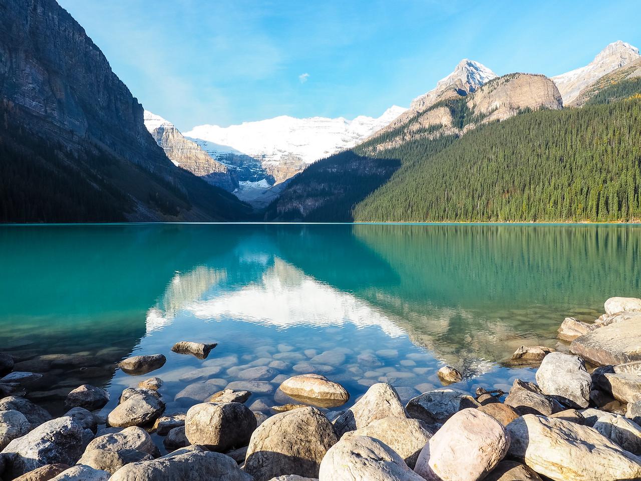 Lake Louise in the morning