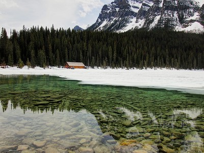 Lake Louise in May