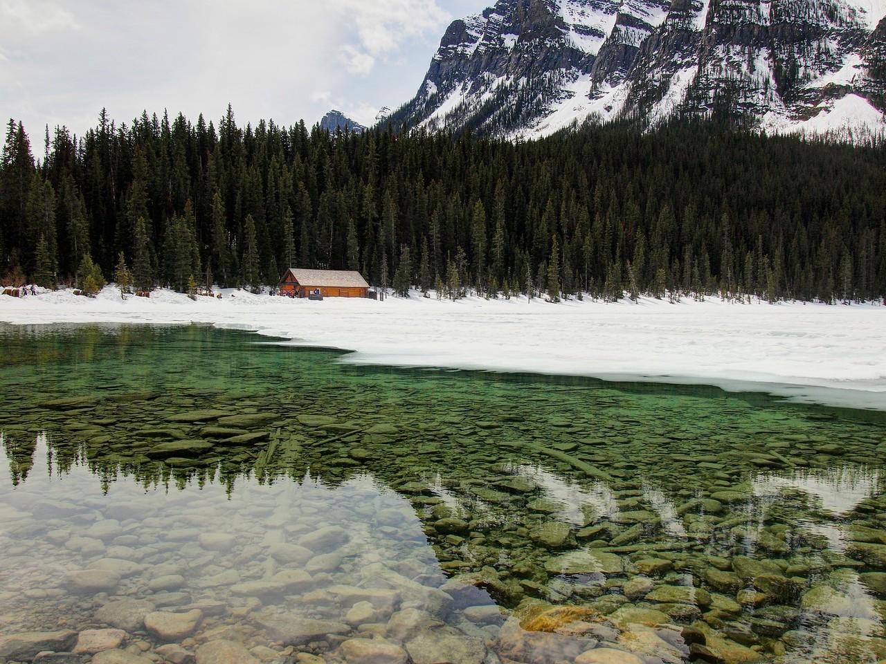 Lake Louise in May