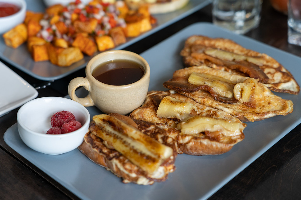 French toast from Burwood Distillery