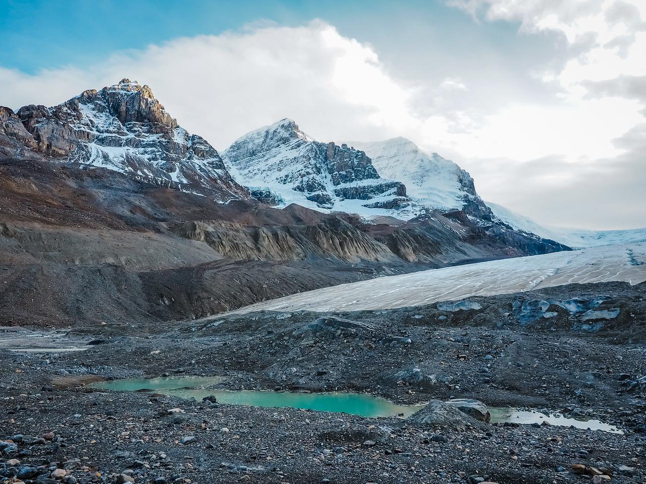 Athabasca Glacier in Alberta