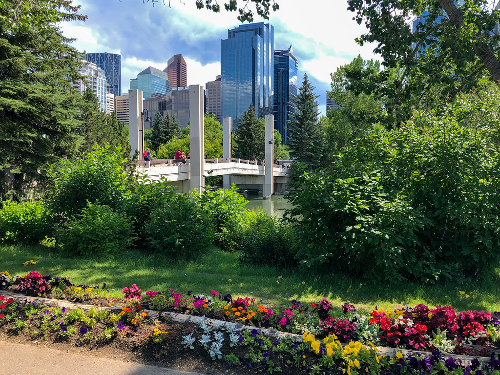 Prince's Island Park in Calgary