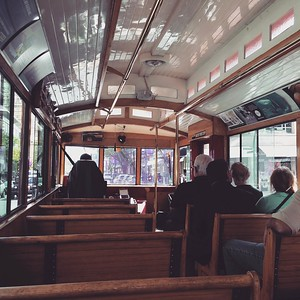 Trolley tour in Vancouver