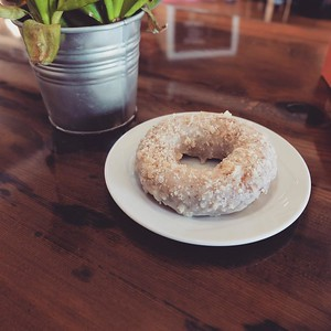 Sometimes I crave Parmesan and honey cake donuts. #foodporn