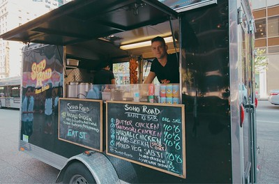 Soho Road Food Truck in Downtown Vancouver