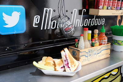 Mom's Grilled Cheese food truck in Downtown Vancouver