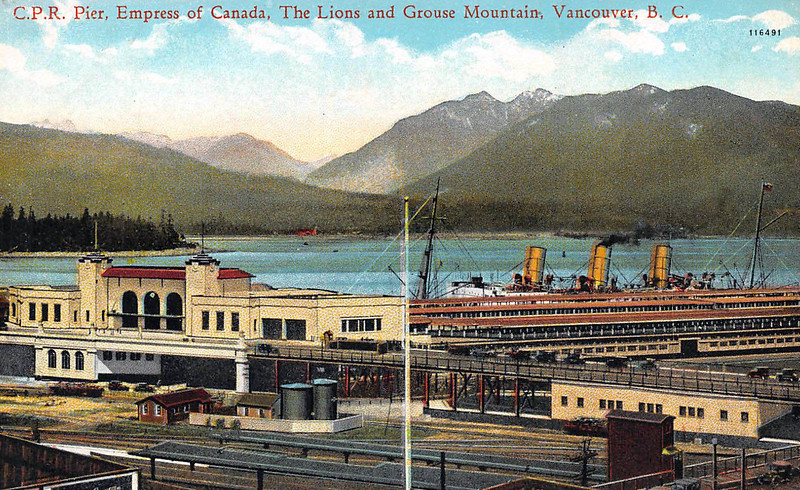 The Lions and Grouse Mountain