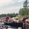 Canoe trip in Georgian Bay